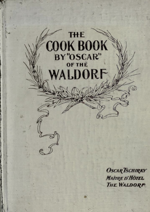 Kookboek Waldorf Astoria