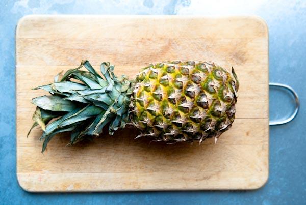 Ananas met munt-1